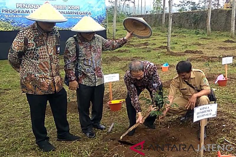 Menjadikan kopi sebagai tanaman konservasi di Banjarnegara