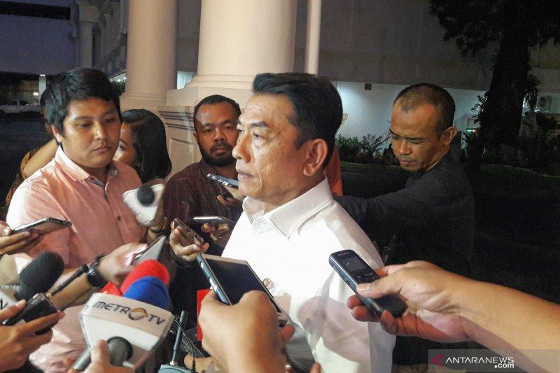 Moeldoko tegaskan Jokowi hindari intervensi persoalan hukum