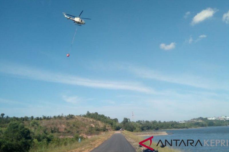 40 hektare hutan lindung Batam terbakar