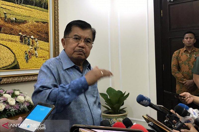 Jusuf Kalla sebut kebocoran anggaran hanya 2,5 Persen
