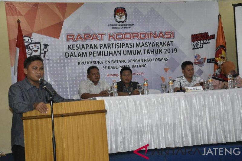 KPU Batang targetkan 77,5 persen partisipasi pemilih