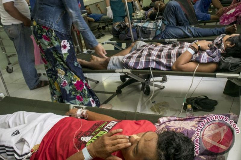 Tenggak minuman keras oplosan lebih 100 orang meninggal di India