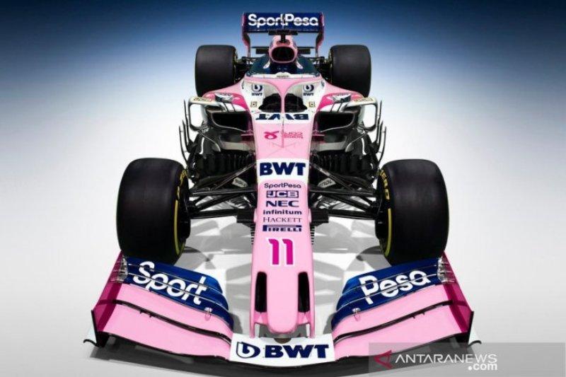 Mobil balap baru Racing Point untuk F1 2019