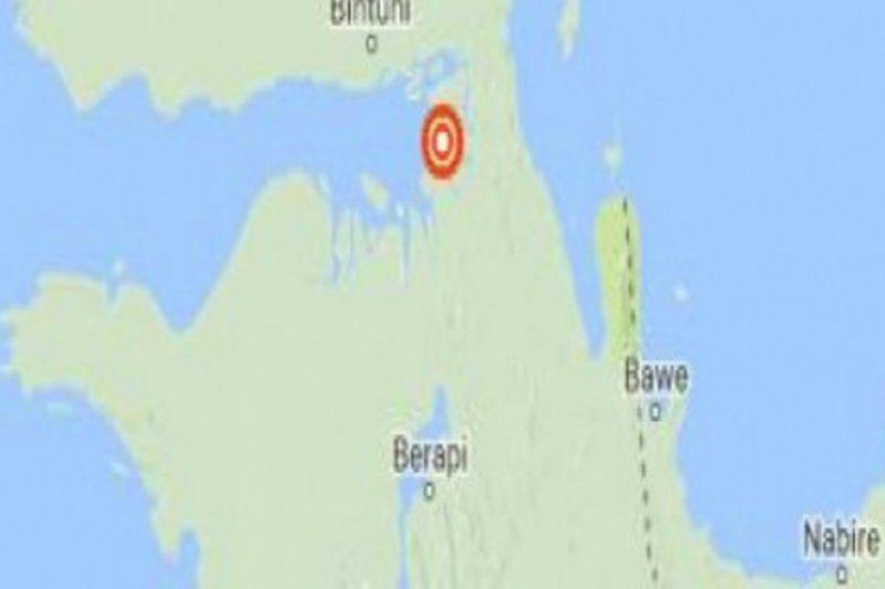 Gempa 5,4 SR guncang Jayapura dan Keerom