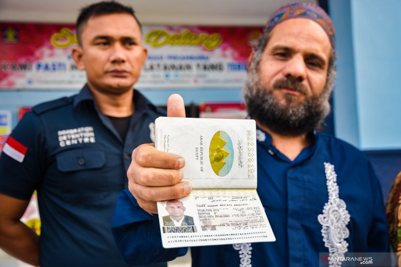 Imigrasi Palembang deportasi 20 warga Malaysia