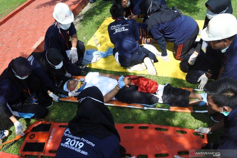 Pelatihan pertolongan pertama kejadian gawat darurat