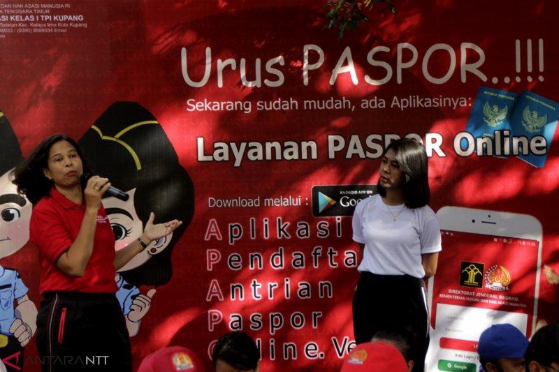 """Layanan """"Paspor Satu Hari"""" terkendala jaringan internet"""