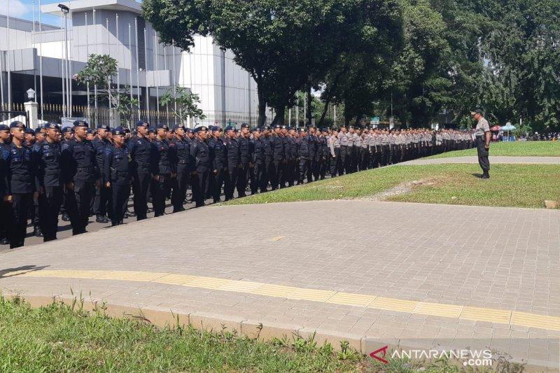 Personel gabungan TNI-Polri gelar apel pengamanan
