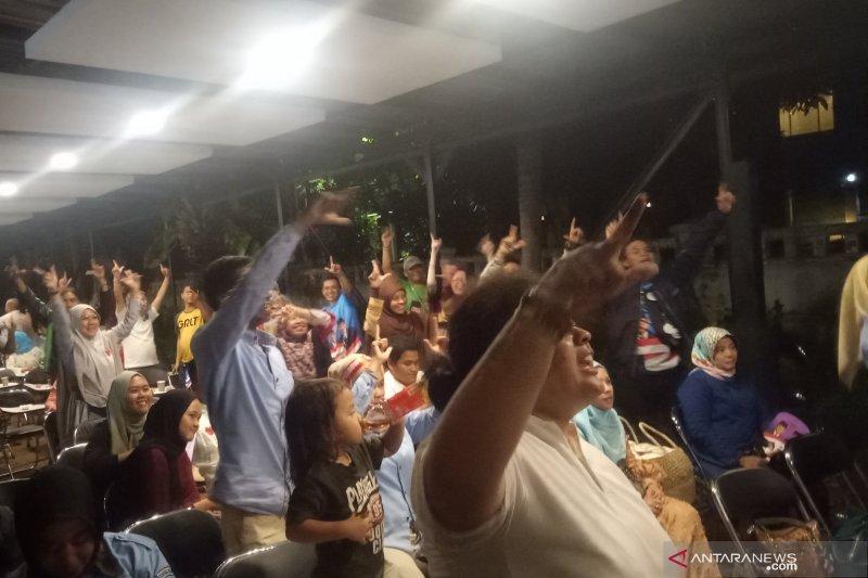 Posko BPN Prabowo-Sandi semarak dengan