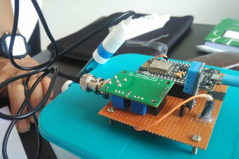 Mahasiswa ITTP ciptakan alat ukur PH budi daya lele