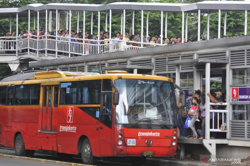 Transjakarta tambah lima rute baru setiap bulan