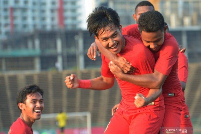 Indonesia bermain imbang dengan Malaysia 2-2