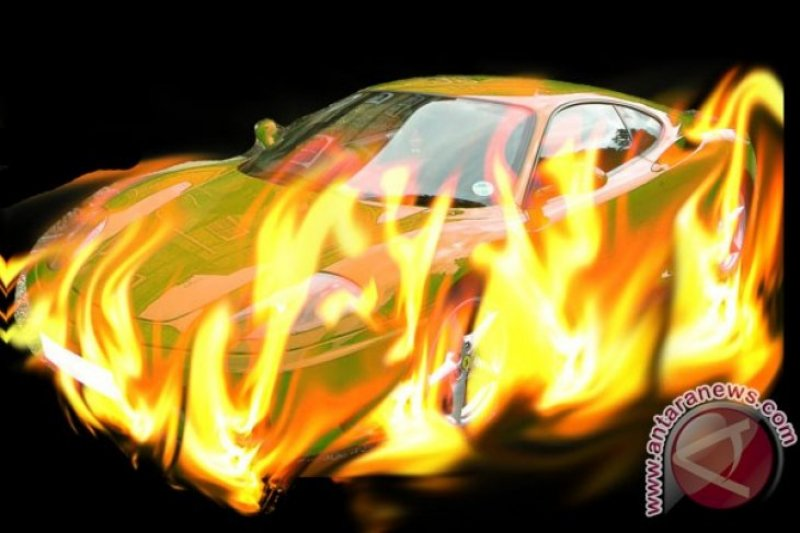 Teror Bakar Kendaraan Terjadi Lagi, Kini Korbannya Dua motor
