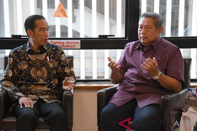 Pertemuan Jokowi - SBY dinilai bisa jadi contoh damainya politik