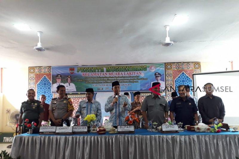Musrenbang kecamatan, pembangunan infrastruktur jadi idola