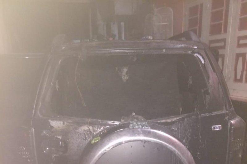 Polisi selidiki unsur kesengajaan terbakarnya mobil caleg