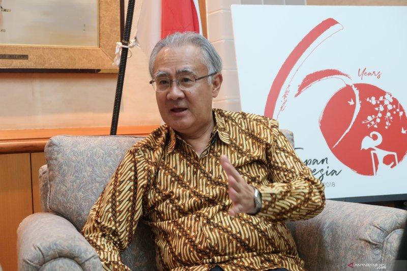 MRT simbol persahabatan Indonesia-Jepang, kata Dubes Jepang