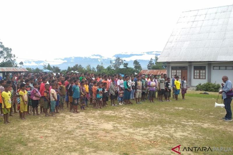 Bantuan pengungsi Nduga segera selesai didistribusikan