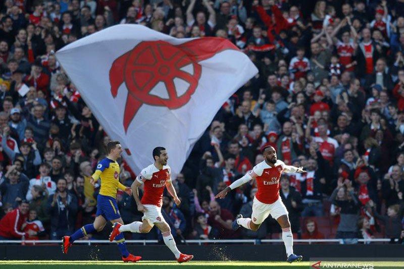 Arsenal singkirkan Rennes dengan 3-0