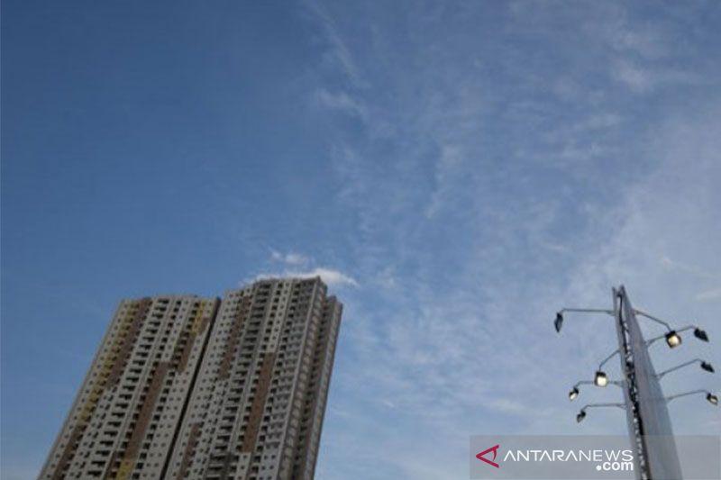 Cuaca cerah berawan sambut Jakarta Rabu pagi