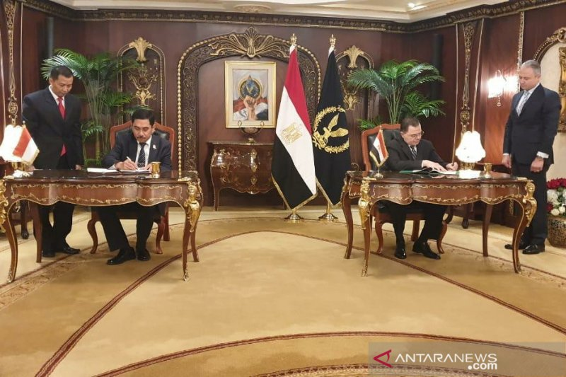 Indonesia-Mesir jalin kerja sama penanggulangan terorisme