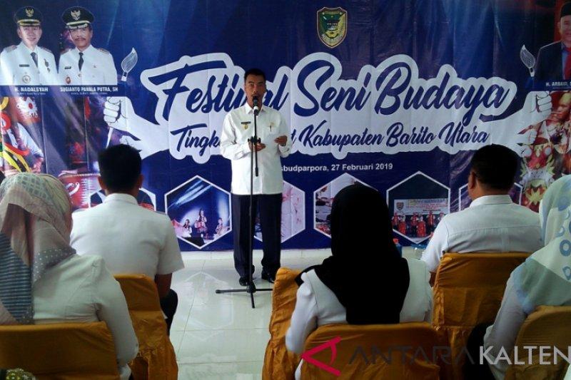 Barito Utara gelar festival seni budaya pelajar