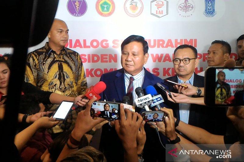 Prabowo akan atasi persoalan BPJS Kesehatan