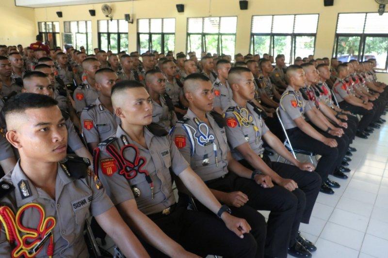Kapolda Sulteng bekali siswa SPN yang siap dilantik jadi anggota Polri