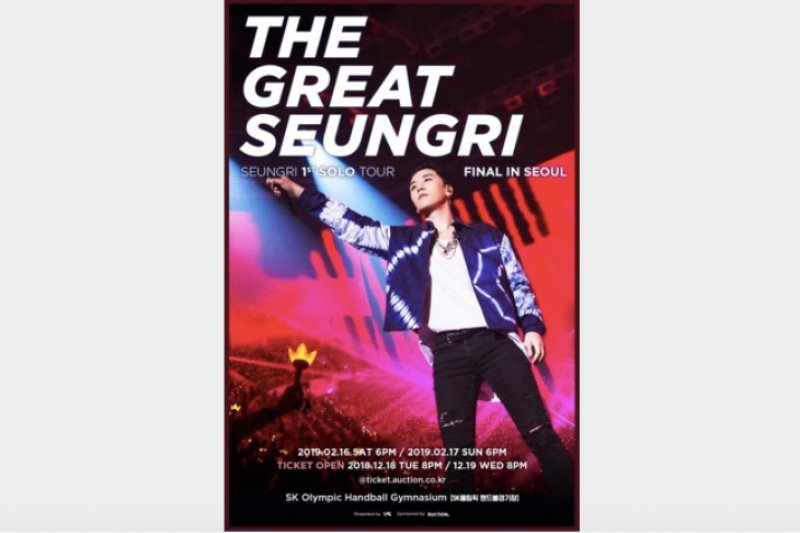 Seungri BIGBANG batalkan konser di Jakarta