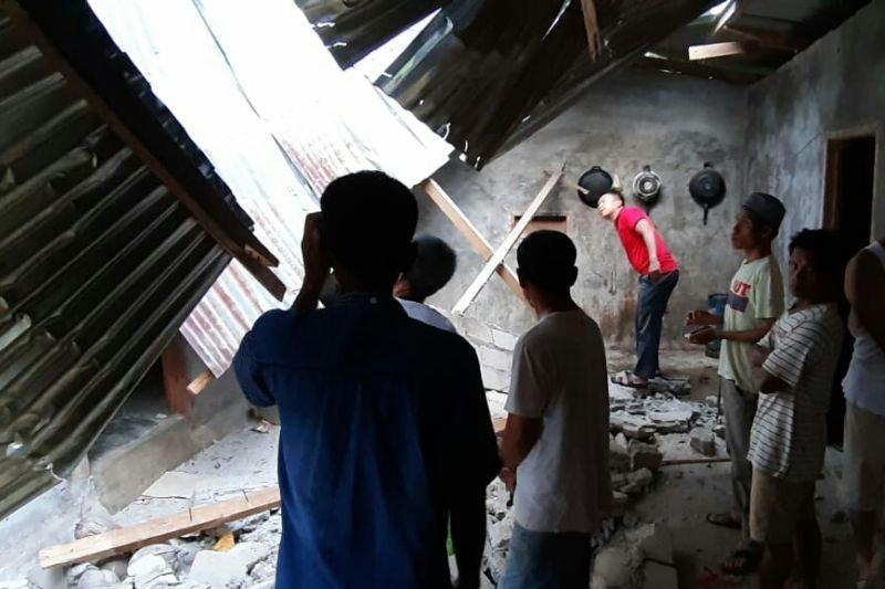 40 rumah di Solok Selatan rusak akibat gempa