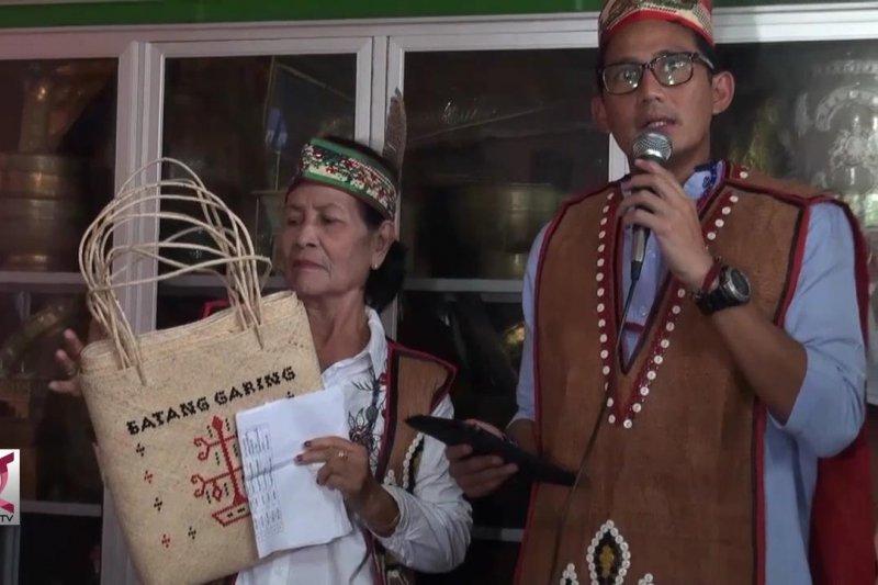 Sandi Uno soroti penyelundupan rotan asal Kalteng