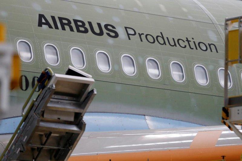 Saham Airbus meroket setelah kantongi pesanan China