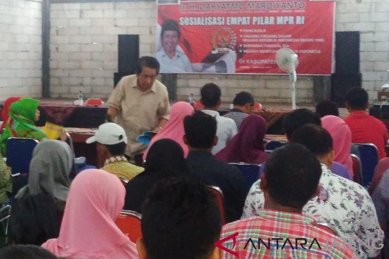 MPR ajak masyarakat implementasikan empat pilar dalam kehidupan