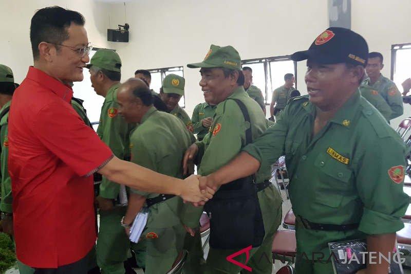 MPR beri penguatan Empat Pilar Kebangsaan pada personel Linmas Kota Semarang