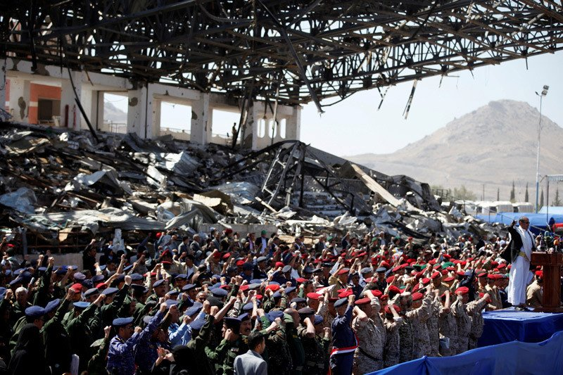 PBB hitung kerugian pabrik gandum di pelabuhan Yaman pasca-serangan