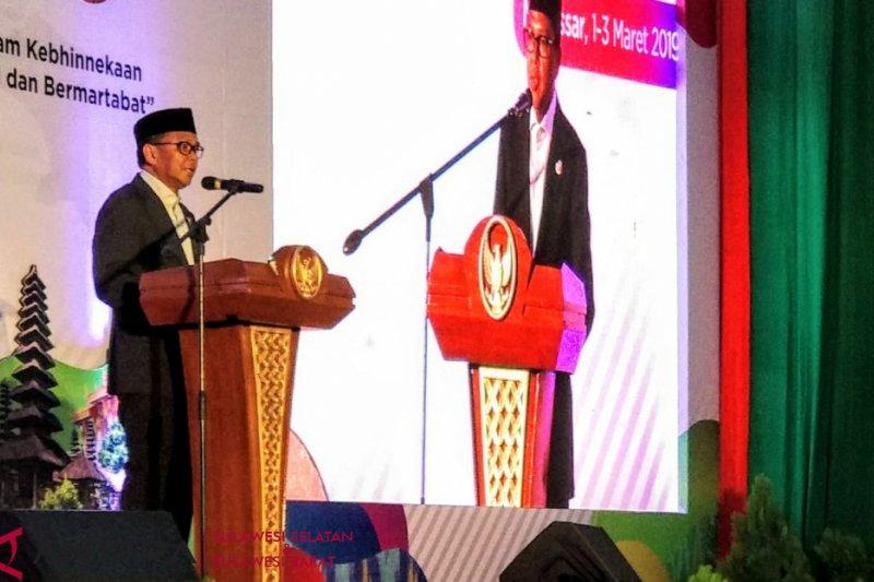 Gubernur Sulsel berbagi kiat jaga kerukunan umat beragama