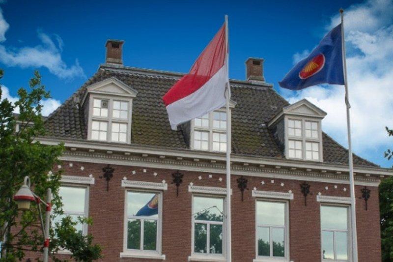 Resepsi diplomatik di KBRI Den Haag rayakan persahabatan