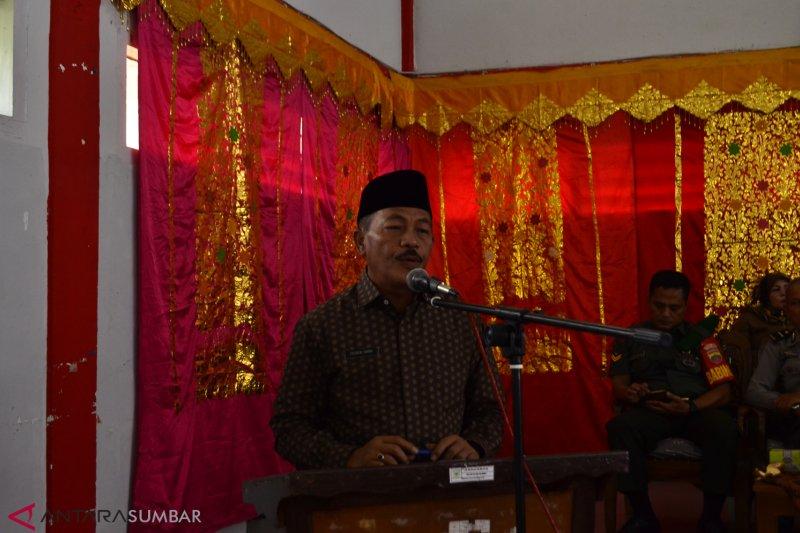 Masyarakat Tanah Datar diminta sukseskan pembangunan jalan dua jalur Batusangkar
