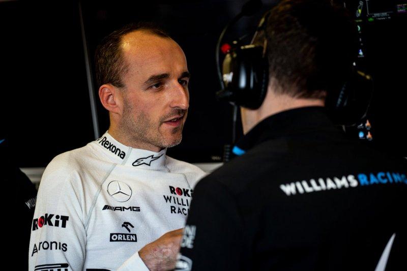 Pada akhir musim Kubica hengkang dari Williams