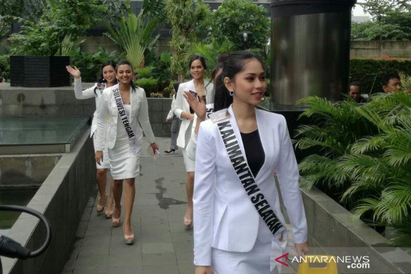 KPK terima kedatangan 39 finalis Puteri Indonesia 2019