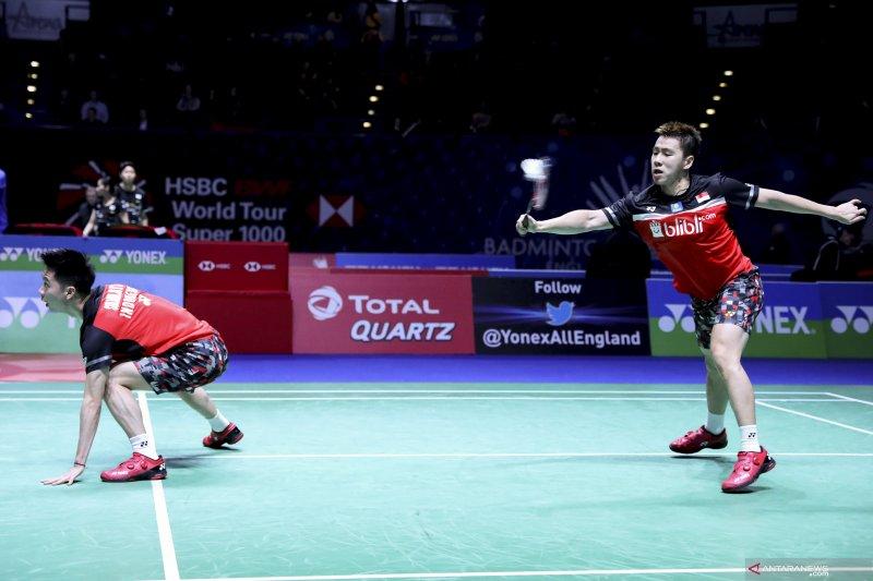 Marcus/Kevin kembali ditantang pasangan Jepang di final Kejuaraan Asia