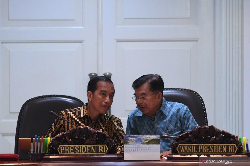 Jokowi : Saya dan Pak JK nyaris lima tahun ini tidak ada satu hal pun yang berbeda