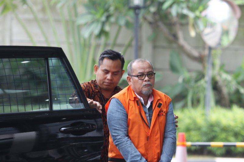 KPK limpahkan berkas perkara korupsi peningkatan jalan Bengkalis