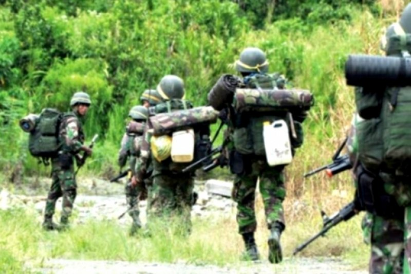 Satgas Tinombala Poso baku tembak dengan DPO terorisme, tiga tewas