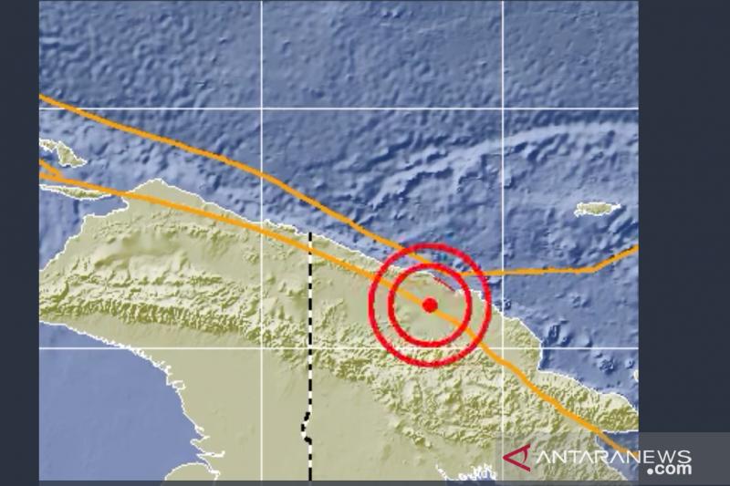 Gempa magnitudo 5,9 guncang Papua Nugini