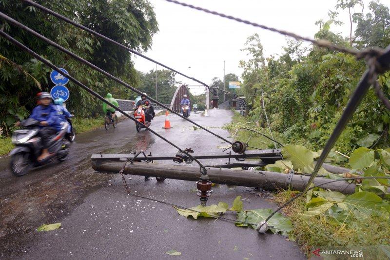 Dampak bencana banjir Trenggalek