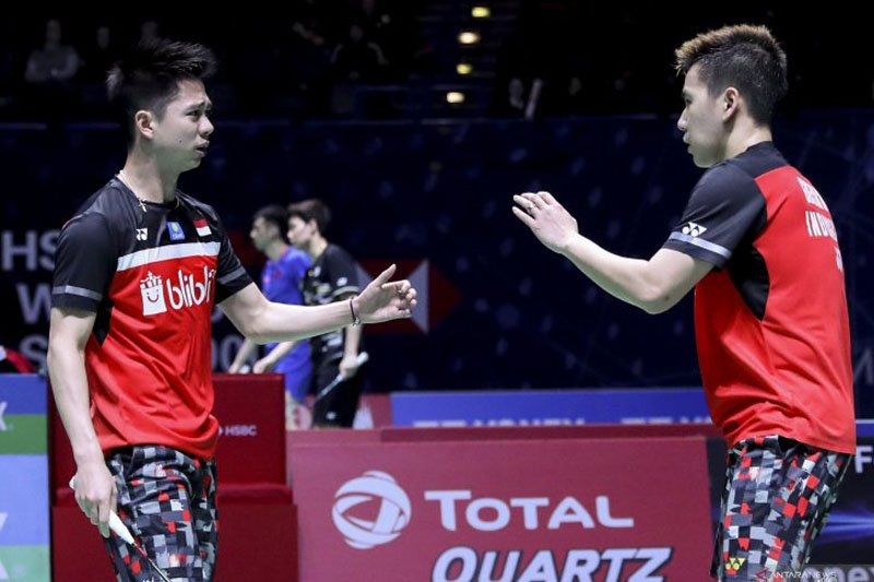 Kevin-Marcus runner-up di Asia Championships 2019