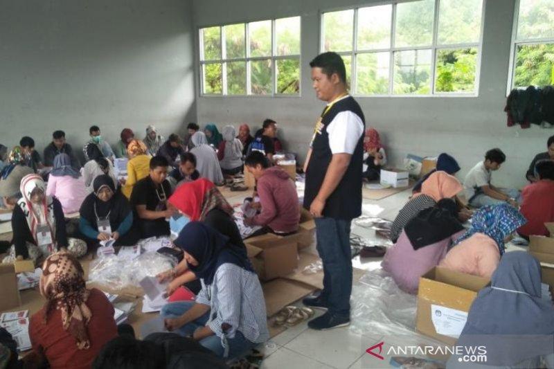 Kekurangan surat suara di KPU Cianjur tercatat 27.205 lembar