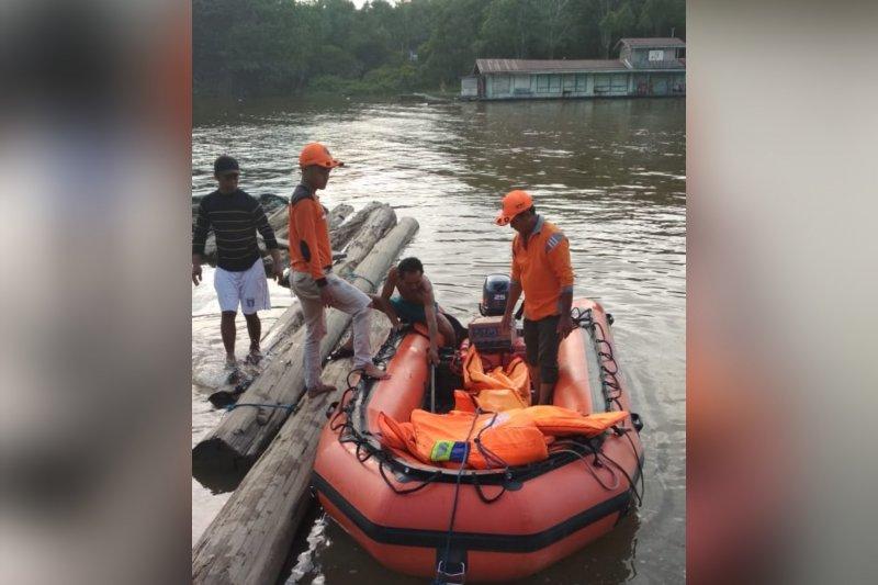 Jasad Saeful ditemukan di hilir muara Sungai Lahei