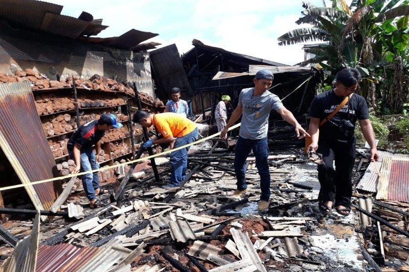 Polisi selidiki penyebab terbakarnya bangunan di komplek Panti Asuhan Ayah Bunda